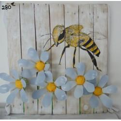 Tableau - l'abeille