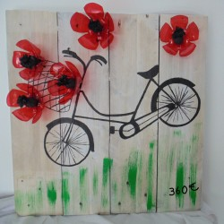 Tableau - Cueillette à vélo