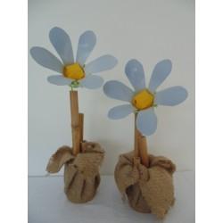 Marguerite et bambou